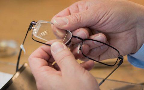 Die Brillenfertigung